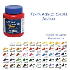 TINTA ACRILICA ACRYLIC COLORS 250ml (ACRILEX)