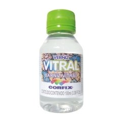 VERNIZ VITRAL INCOLOR 100ML (CORFIX)
