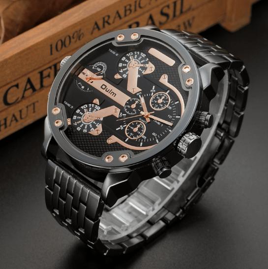 4432d4e300e Relógio Oulm Style Super Big 3548