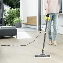 Limpiador A Vapor Manual Karcher Sc1 + Floor Kit Para Piso