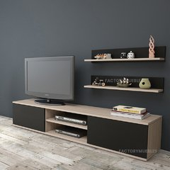 Mesa Modular Rack Mueble Tv Led Melamina 18mm Jerez
