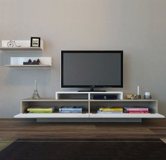 Mesa Modular Rack Tv Led Barcelona Factory Muebles - comprar online