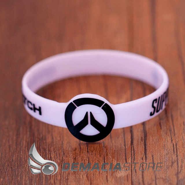 Pulseira Overwatch Silicone na internet