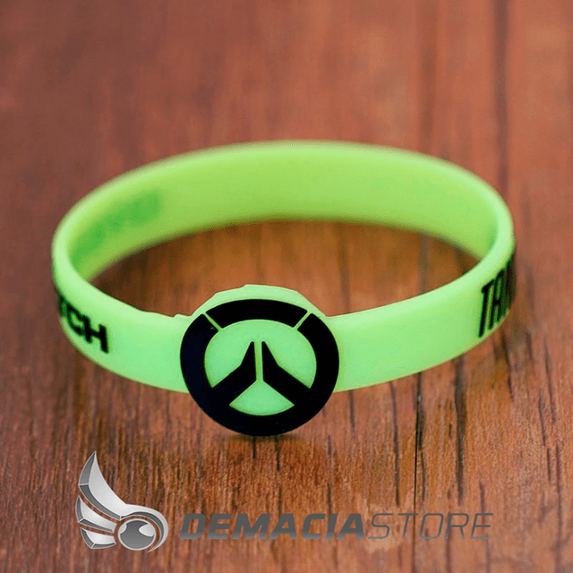 Pulseira Overwatch Silicone - loja online