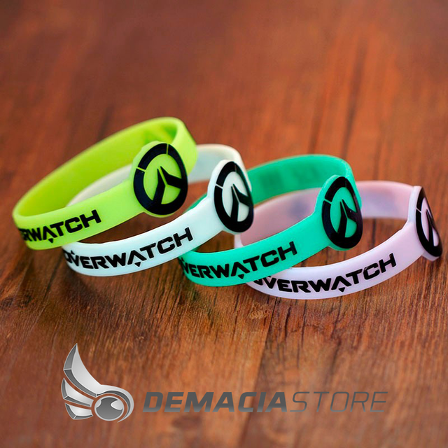 Pulseira Overwatch Silicone