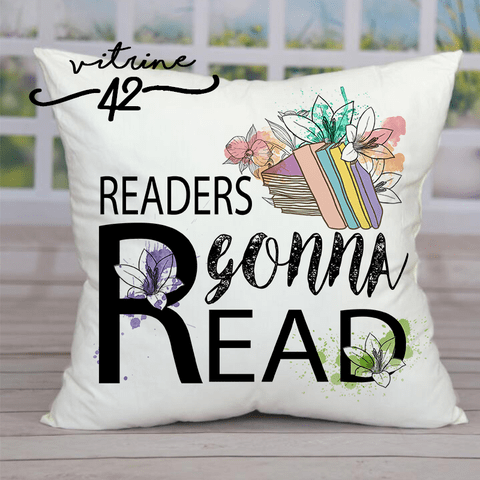 Almofada - Readers gonna Read