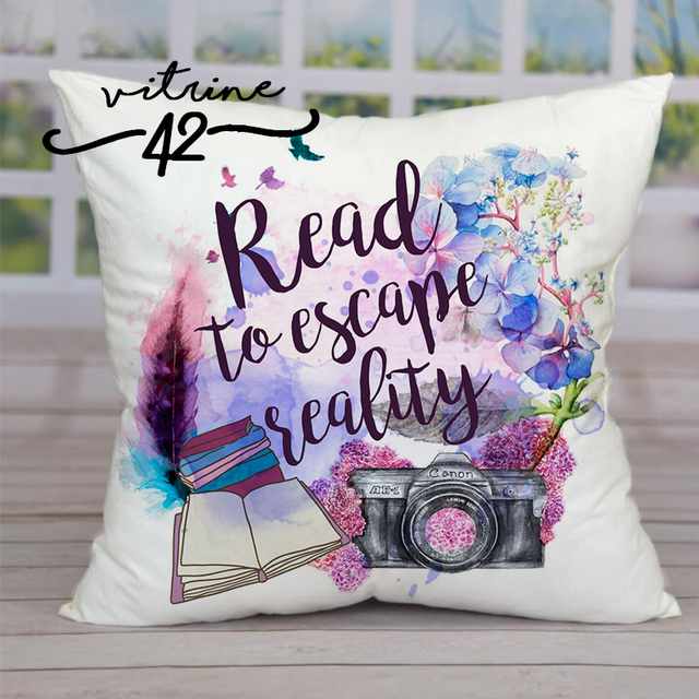 Almofada - Read to Escape - comprar online