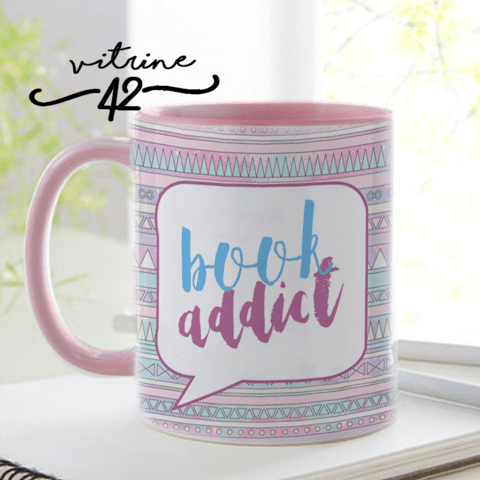 Caneca - Bookstagram - Book Addict