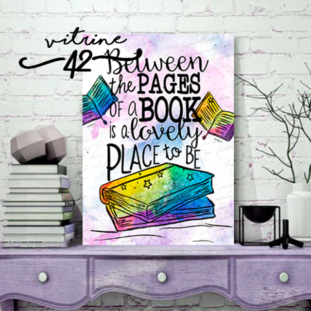 Quadro - Bookstagram - Between the Pages of a Book - comprar online