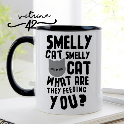 Caneca - Friends - Smelly Cat