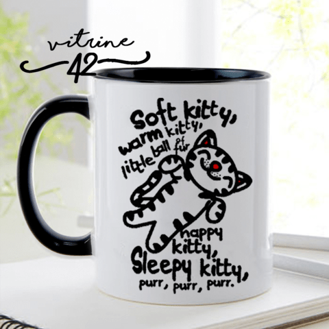 Caneca - Friends - Soft Kitty