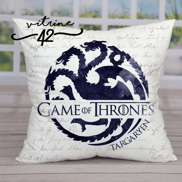 Almofada - Game of Thrones - Casa Targaryen - comprar online