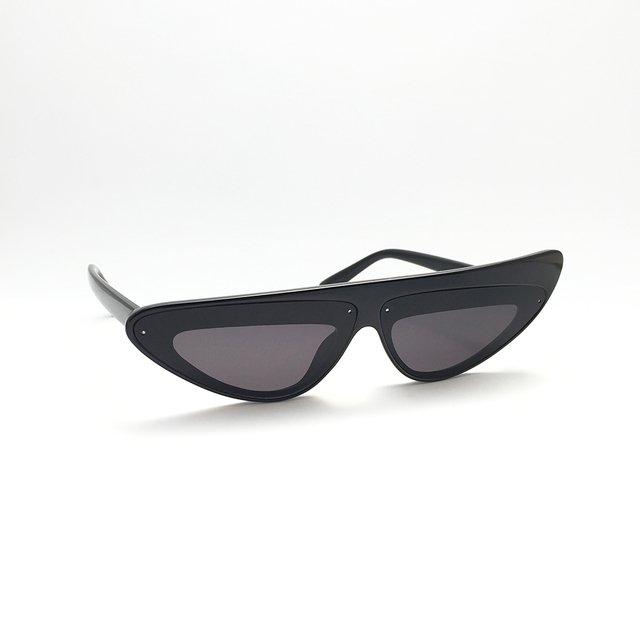 Óculos de sol Preto Techno Clubber, ideal para montar seu look em suas  festas, 998ea9880b
