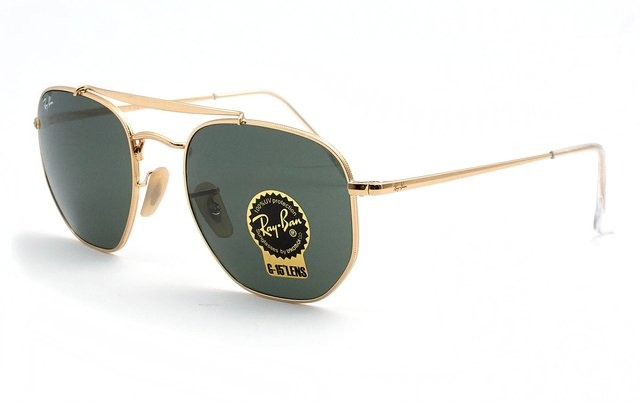 RAY BAN THE MARSHAL 3648 001 - comprar online