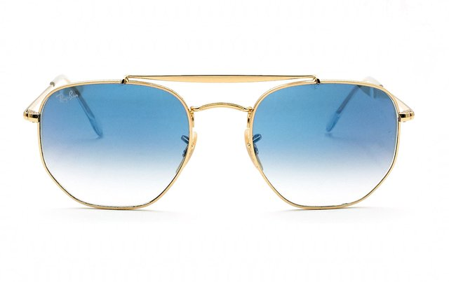 RAY BAN THE MARSHAL 3648 001 3F