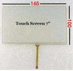 Tela Toque Touch Screen 7 Central Multimídia Caska/m1/buster