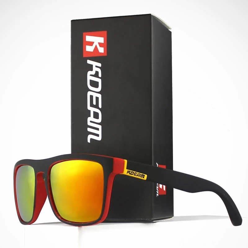 40e0852db Óculos Kdeam Polarizada De Sol Design Clássico All-Fit Proteção UV400 e UVA