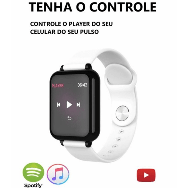 Relógio Smartwatch Hero Band 3 - iOS e Android - comprar online