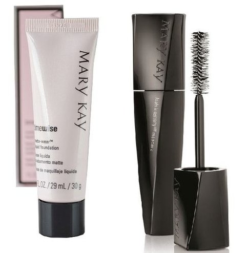 Base Líquida Matte 29ml + Rímel Lash Intensity Mary Kay