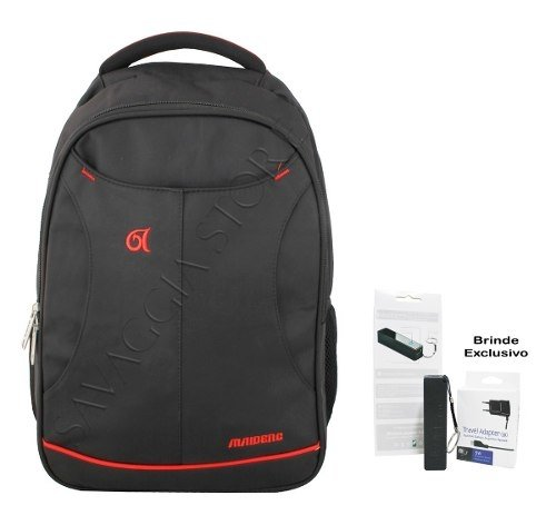 Mochila Masculina Notebook Executiva P/ Costa B1815 + Brinde