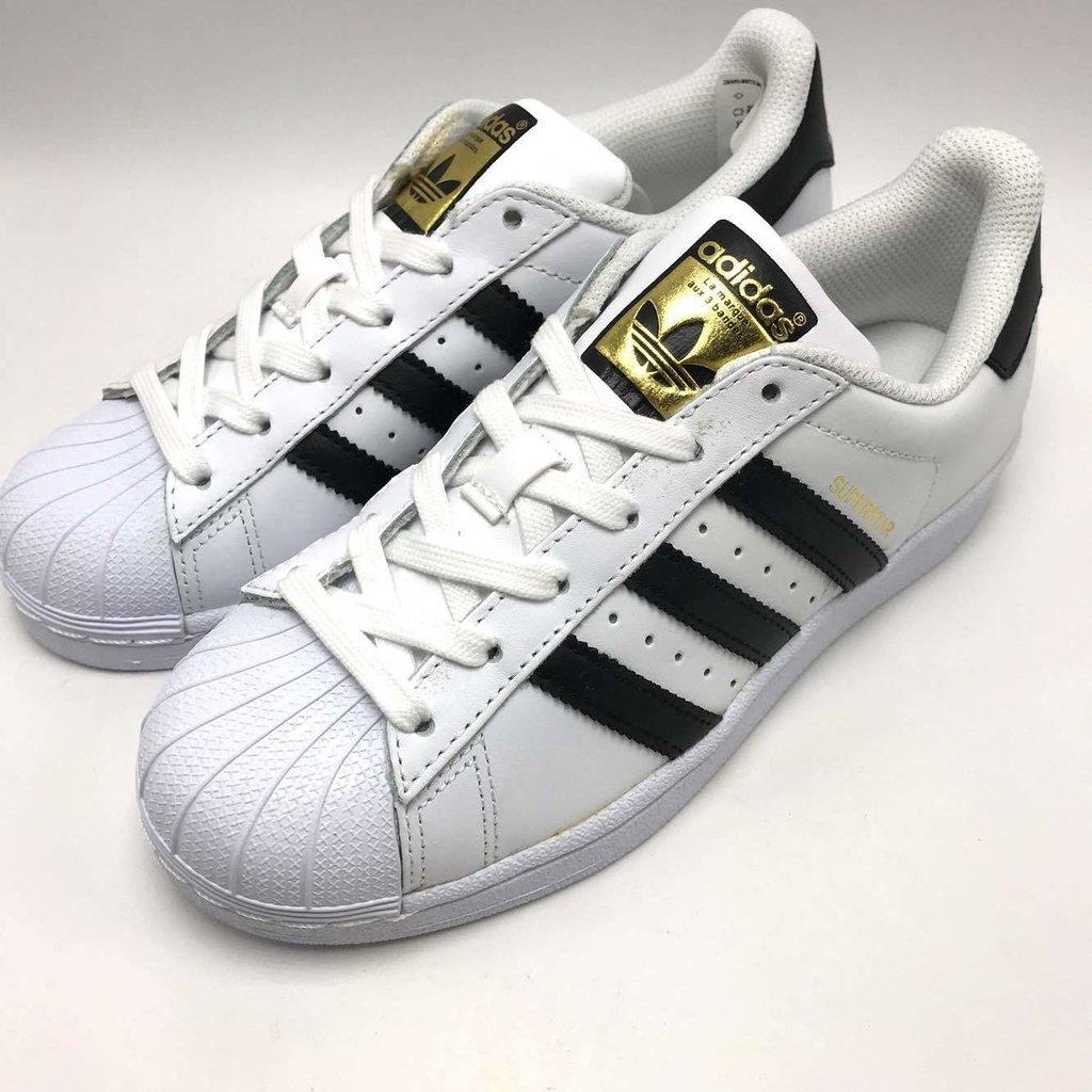 ca463d7d947 Tênis Adidas Superstar Branco listra Preta - Fwstore