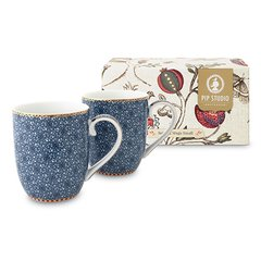 SET 2 MUGS CHICOS SPRING TO LIFE AZUL