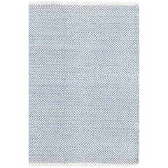 HERRINGBONE SWEDISH BLUE ALGODON