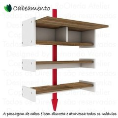 Suporte Rack P/ Tv, Video Games, Xbox One, Ps4 - Branco - La RoOteria Atelier