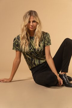 Blusa Forest Green