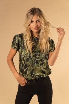 Blusa Forest Green - Prier Buenos Aires