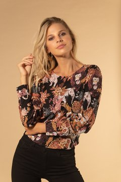 Blusa Monkey Brown - Prier Buenos Aires
