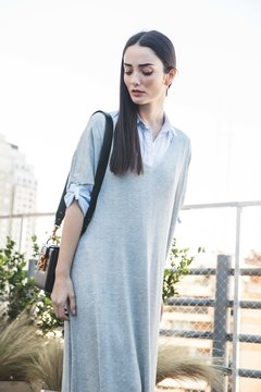 Sweater Tunic Grey - online store