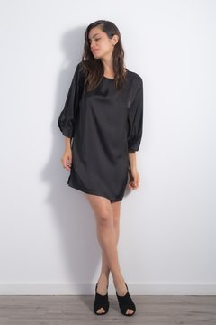 Vestido Oxford Black