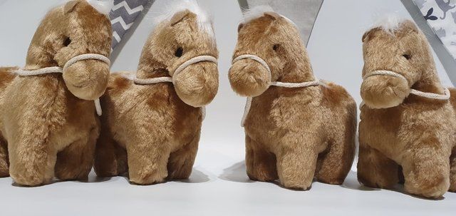 Peluche Caballo 10 Cm - Rabbit Kids