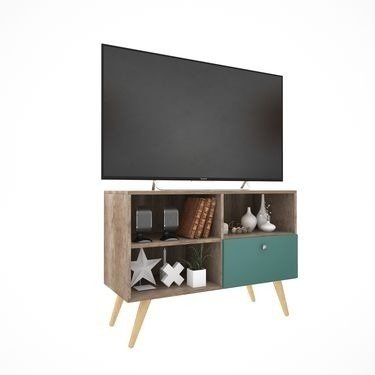 Modular Tv Mesa Led Lcd 42   Mueble Tv  Rack Escandinavo