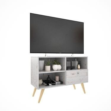 Modular Tv Mesa Led Lcd 42   Mueble Tv  Rack Escandinavo - Rabbit Kids