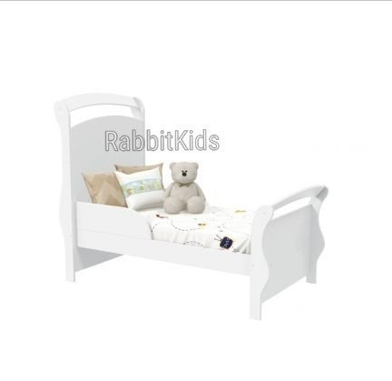 Cuna Larkin Charriot Colecho -cuarto Bebe-convertible Cama - Rabbit Kids