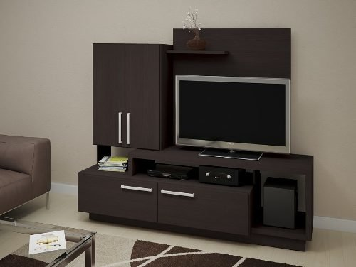 Mueble Colgante Rack Home Theatre Colgante Tv 50  Modular - Rabbit Kids