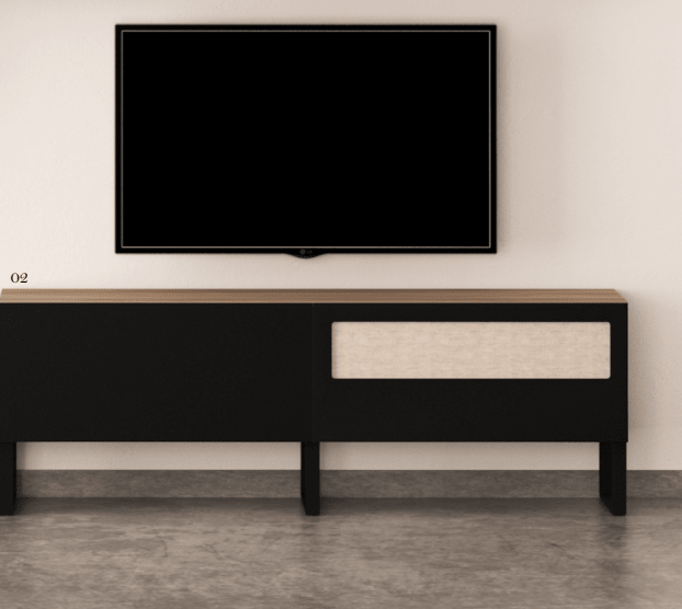 Modulo Tv Patas Metalicas
