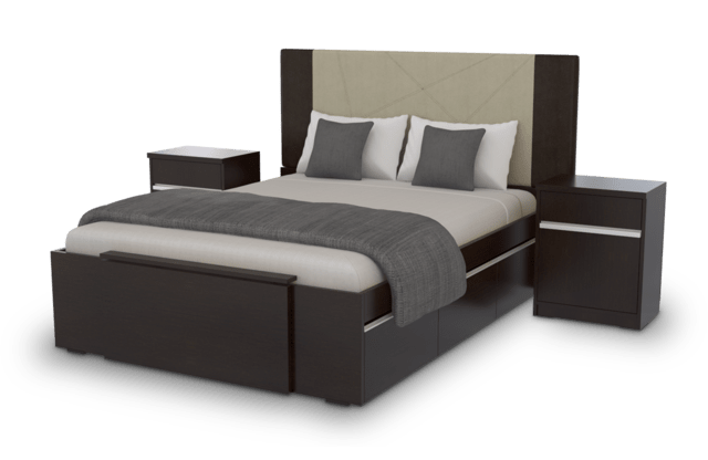 Box Cama 2 Plazas  Extensible