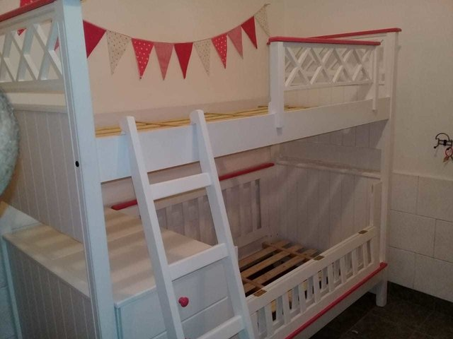 Cama Superpuesta con Funcional - Rabbit Kids