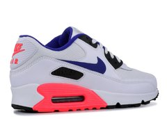 Tênis Nike Air Max 90 Essential Cinza com Azul - Site Oficial RT Shoes