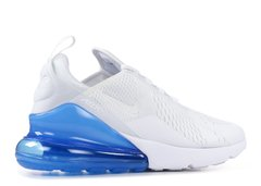 Tênis Nike Air Max 270 White Royal Blue (Masculino) na internet