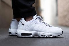 Tênis Nike Air Max 95 White Black Branco com Preto - Site Oficial RT Shoes
