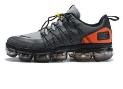 Tênis Nike Air VaporMax Run Utility Grey Orange