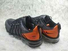Tênis Nike Air VaporMax Run Utility Grey Orange - Site Oficial RT Shoes