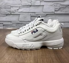 Tênis Fila Disruptor II Branco - Site Oficial RT Shoes