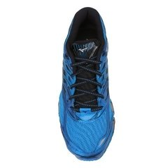 Tênis Mizuno Wave Prophecy 8 Azul com Preto - Site Oficial RT Shoes
