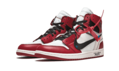 Tênis Nike Air Jordan Of White Vermelho - Site Oficial RT Shoes