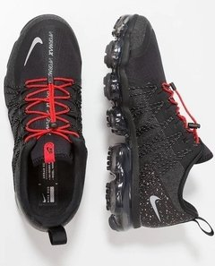Tênis Nike Air VaporMax Run Utility Black Red - loja online